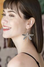 Vintage Dragonfly øreringe