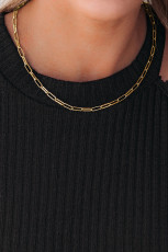 Golden Plated Clavicle Chain