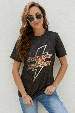 TAKE IT EAZY Graphic T-shirt