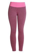 Rose 3D Mesh Honeycomb Gym Yoga Legging