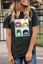 Portraits Graphic Print T-shirt