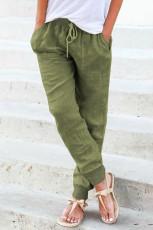 Grønne joggebukser med løbegang