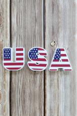 Patrón de bandera USA Modelo Pared Puerta Decoración para el hogar