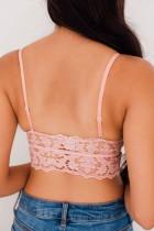 Ροζ μπρελόκ Chunky Lace