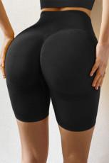 Pantaloni scurți sport de yoga cu talie înaltă și pantaloni de yoga cu talie înaltă