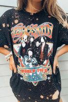 Koszulka Vintage Aerosmith Bleached