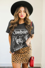 Cowboy Country Distressed Tee