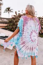 Multicolor Seaside Starlet Tie-dye tuniek