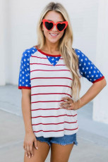 Stars and Stripes National Day Tee