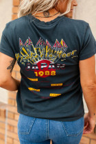 Def Leppard Japan '88 Tour Graphic T-shirt
