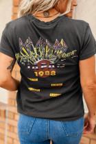 เสื้อยืดกราฟฟิค Def Leppard Japan '88 Tour