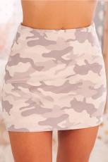 Μίνι φούστα Camo Print