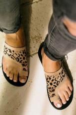 รองเท้าแตะ Fly Knit Breathable Flat-toe