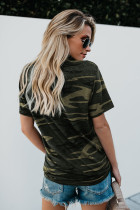 Classic Coffee Graphic Camo Tee
