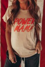 Koszulka z grafiką POWER MAMA
