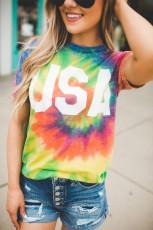 Μπλουζάκι Tie Dye Rainbow Vortex