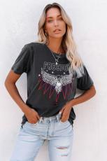 FRIEDOM EAGLE Bekymret T-shirt