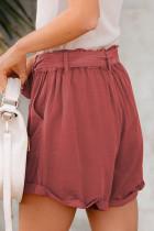 Syet hætte med lynlås i lomme og lommer med bælte